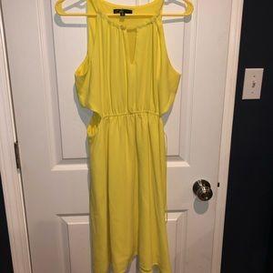 C Luce side cutout summer dress Medium